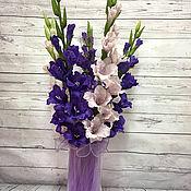 Цветы и флористика ручной работы. Ярмарка Мастеров - ручная работа Гладиолус. цветок всех Гладиаторов....... Handmade.