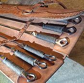 Подарочный набор из 6 кованых шампуров в футляре Sagittis et Pharetra