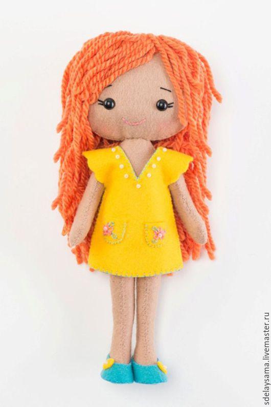 Куклы и игрушки ручной работы. Ярмарка Мастеров - ручная работа. Купить Куколка Агнесс (набор для шитья игрушки). Handmade. Детям