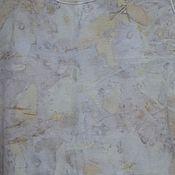 """Одежда ручной работы. Ярмарка Мастеров - ручная работа Майка - топ """"Прохлада"""", в эко стиле.. Handmade."""