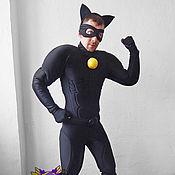Одежда handmade. Livemaster - original item Super-cat (Chat Noir). Animator-actor suit. Handmade.