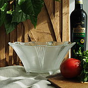 Винтаж handmade. Livemaster - original item Vintage salad bowl on legs. Handmade.