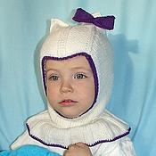 Работы для детей, ручной работы. Ярмарка Мастеров - ручная работа Детская шапочка-шлем с подкладом из хлопка. Handmade.