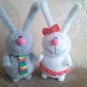 Куклы и игрушки ручной работы. Ярмарка Мастеров - ручная работа Вязанные игрушки:) Парочки:). Handmade.