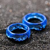 Украшения handmade. Livemaster - original item Wooden wedding / engagement rings IceBerg. Handmade.