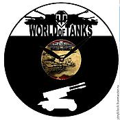 Подарки к праздникам ручной работы. Ярмарка Мастеров - ручная работа Часы World of tanks , Мир танков, подарок, сувенир. Handmade.