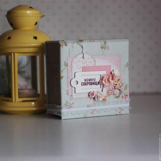 Подарки для новорожденных, ручной работы. Ярмарка Мастеров - ручная работа. Купить Мамины сокровища для девочки. Handmade. Бледно-розовый
