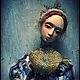 Коллекционные куклы ручной работы. Шармель. Ольга Коробова. Интернет-магазин Ярмарка Мастеров. Рыжие волосы, длинное платье, Премьер