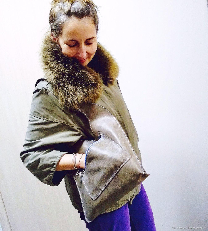 JESSICA (JESSICA)- leather bag (crazy horse), Classic Bag, Divnogorsk,  Фото №1