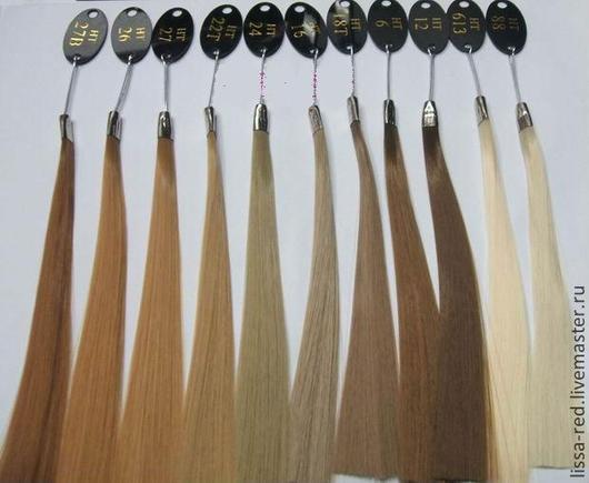 """Куклы и игрушки ручной работы. Ярмарка Мастеров - ручная работа. Купить Волосы для кукол 5цв """"ЧЕЛКА"""" длина волоса 5см. Handmade."""