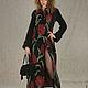 Пальто с вышивкой от российского дизайнера Анны Сердюковой (Дом Моды SEANNA). Шьем по индивидуальным меркам на любой размер. Быстрая доставка в любую точку мира. Только здесь - вяжем. Купить прямо сей