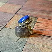 Кольца ручной работы. Ярмарка Мастеров - ручная работа Кольцо с лазуритом. Handmade.