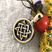 Русский стиль handmade. Livemaster - original item Star of Russia,Slavic amulets amulets. Handmade.