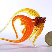 Для дома и интерьера ручной работы. Ярмарка Мастеров - ручная работа Стеклянная фигурка  рыбки Августина. Handmade.