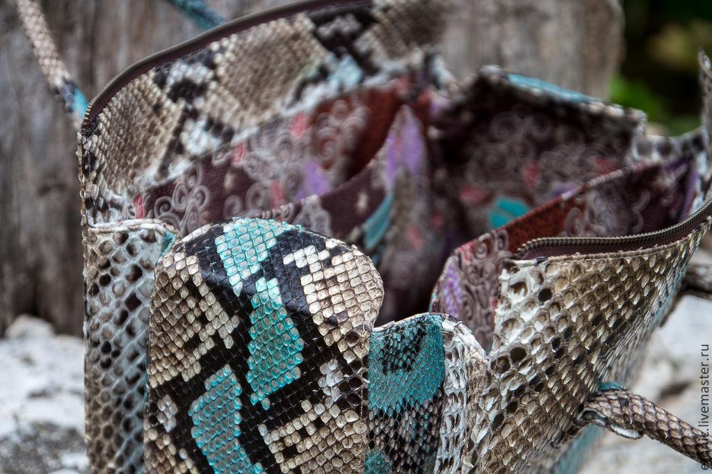 Изделия из ската, питона и крокодила - Экзотическая кожа