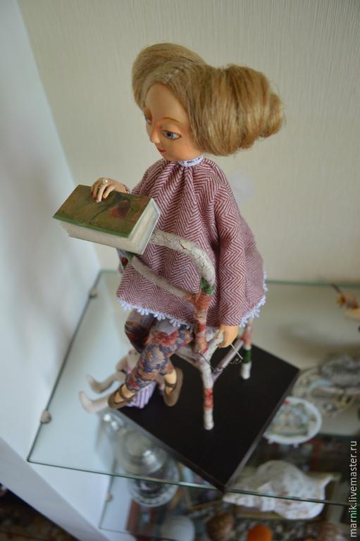Коллекционные куклы ручной работы. Ярмарка Мастеров - ручная работа. Купить Алиса. Handmade. Авторская ручная работа, кукла в подарок