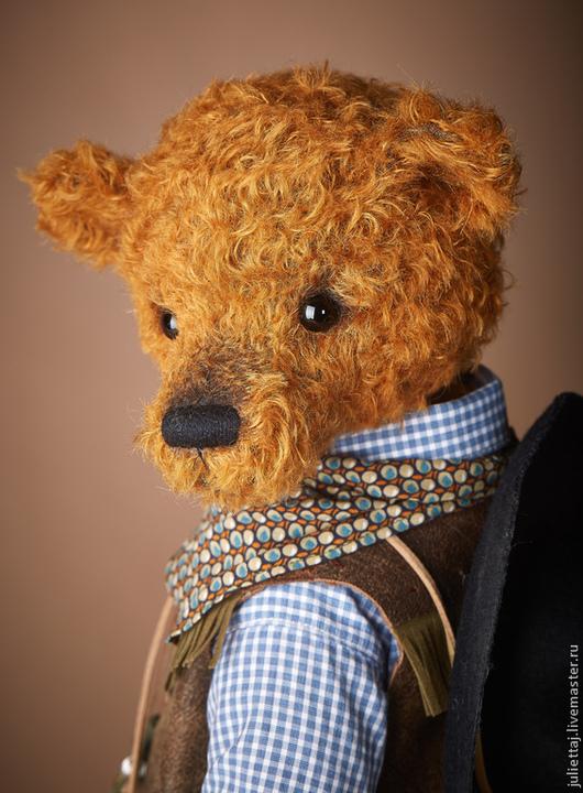 Мишки Тедди ручной работы. Ярмарка Мастеров - ручная работа. Купить Ковбой. Handmade. Рыжий, камфорель