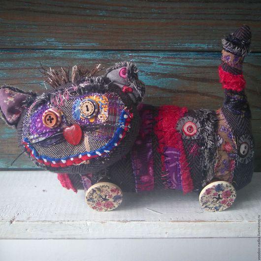 Игрушки животные, ручной работы. Ярмарка Мастеров - ручная работа. Купить Вуду-котярус текстильная игрушка кот. Handmade.