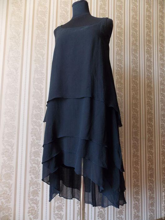 Одежда. Ярмарка Мастеров - ручная работа. Купить Платье. Karl Lagerfeld for H&M. Размер S. Шелк 100%. Handmade.
