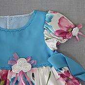 Работы для детей, ручной работы. Ярмарка Мастеров - ручная работа Платье для девочки Амелина нарядное. Handmade.