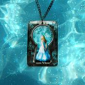 Украшения handmade. Livemaster - original item completely transparent pendant