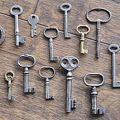 Винтаж ручной работы. Ярмарка Мастеров - ручная работа Старинные и винтажные ключи. Handmade.
