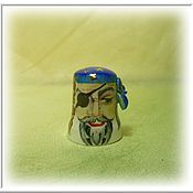 "Model handmade. Livemaster - original item Collection decorative thimble ""Pirate"". Handmade."