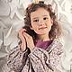 Одежда для девочек, ручной работы. Платье (Арт.: Д-5). Анна (Авторская Одежда). Интернет-магазин Ярмарка Мастеров.