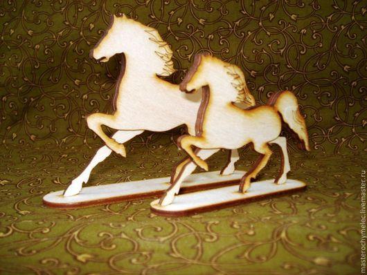 """Декупаж и роспись ручной работы. Ярмарка Мастеров - ручная работа. Купить Конь """"Мустанг"""". Handmade. Белый, лошадка качалка"""
