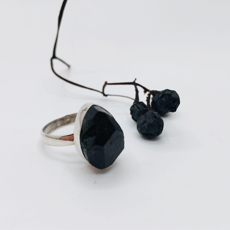 Кольцо с турмалином, Кольца, Феодосия,  Фото №1