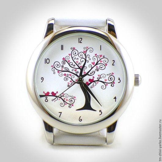 """Часы ручной работы. Ярмарка Мастеров - ручная работа. Купить Часы наручные """"Романтика"""". Handmade. Часы, наручные часы"""