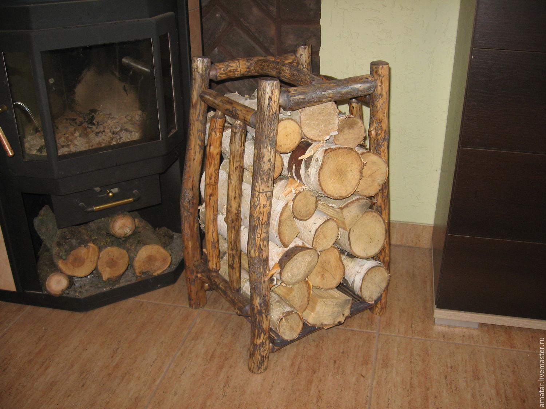 Как сделать поленницу для дров 62