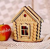 Для дома и интерьера handmade. Livemaster - original item Napkin holder made of cedar