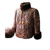 Одежда ручной работы. Ярмарка Мастеров - ручная работа Зимняя куртка+шапка из ППП. Handmade.
