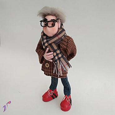 Куклы и игрушки ручной работы. Ярмарка Мастеров - ручная работа Портретная кукла по фотографии. Мужские портреты. Handmade.