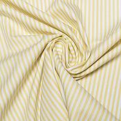 Материалы для творчества ручной работы. Ярмарка Мастеров - ручная работа Рубашечная  ткань   полоску (two-fold cotton)  Camicissima. Handmade.