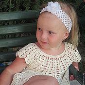 Работы для детей, handmade. Livemaster - original item Girl`s dress