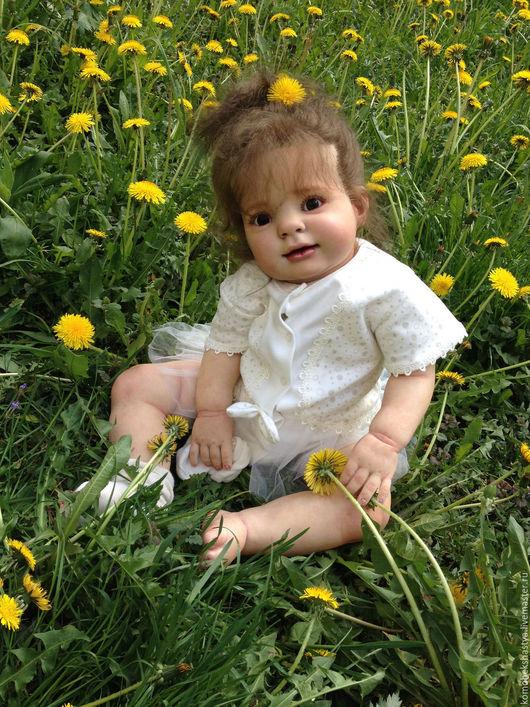 Куклы-младенцы и reborn ручной работы. Ярмарка Мастеров - ручная работа. Купить Кукла реборн Ангелина.. Handmade. Кремовый, Молд