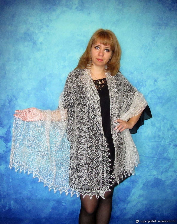 Lace shawl,wedding shawl,white scarf,hand knit shawl,warm wrap, Wraps, Tashkent,  Фото №1