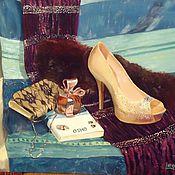 Картины и панно ручной работы. Ярмарка Мастеров - ручная работа Дамскйи натюрморт. Handmade.