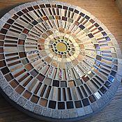 Стол мозаичный Колесо
