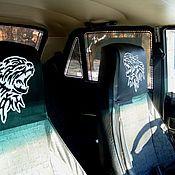 Дизайн и реклама ручной работы. Ярмарка Мастеров - ручная работа авто  чехлы1а+2а                          авто чехлы 1   +   2. Handmade.