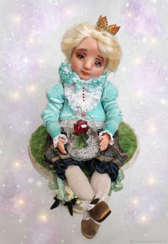 Маленький принц художественная кукла ручной работы, Куклы и пупсы, Нижний Новгород,  Фото №1