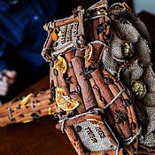 Цветы и флористика ручной работы. Ярмарка Мастеров - ручная работа Букет из конфет Острота чувств, украшенный корицей и другими пряностям. Handmade.