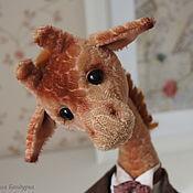 Куклы и игрушки ручной работы. Ярмарка Мастеров - ручная работа Жираф Мариус. Handmade.