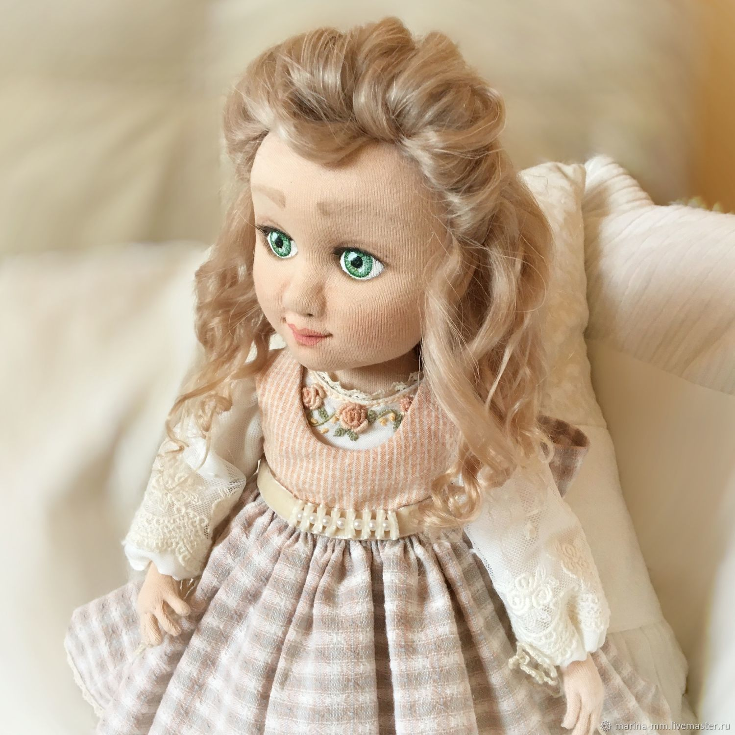 Textile interior doll, Dolls, Moscow,  Фото №1