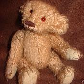 Куклы и игрушки ручной работы. Ярмарка Мастеров - ручная работа Мишка ретро мохер. Handmade.