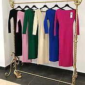 Одежда handmade. Livemaster - original item Dress knitted !Dress with the cardigan!Dress designer. Handmade.