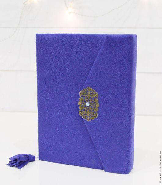 Ежедневники ручной работы. Ярмарка Мастеров - ручная работа. Купить ежедневник. Handmade. Тёмно-синий, подарок, подарок на 8 марта