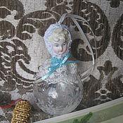 """Подарки к праздникам ручной работы. Ярмарка Мастеров - ручная работа Новогодняя игрушка """" Снегурочка """". Handmade."""
